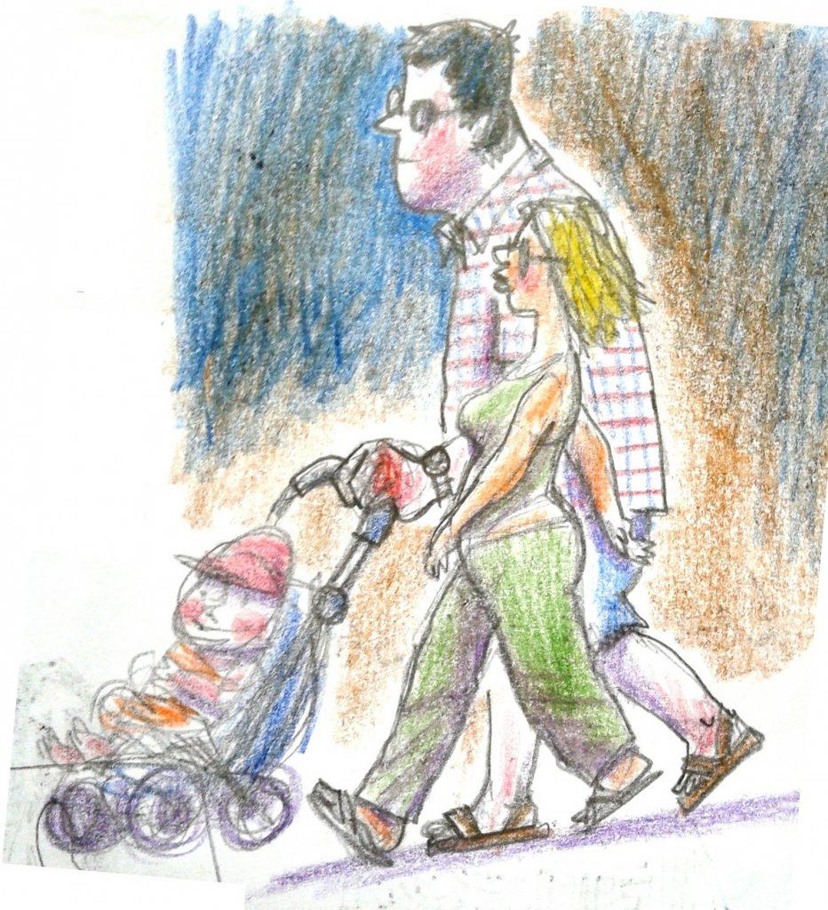 Скетч: Родители