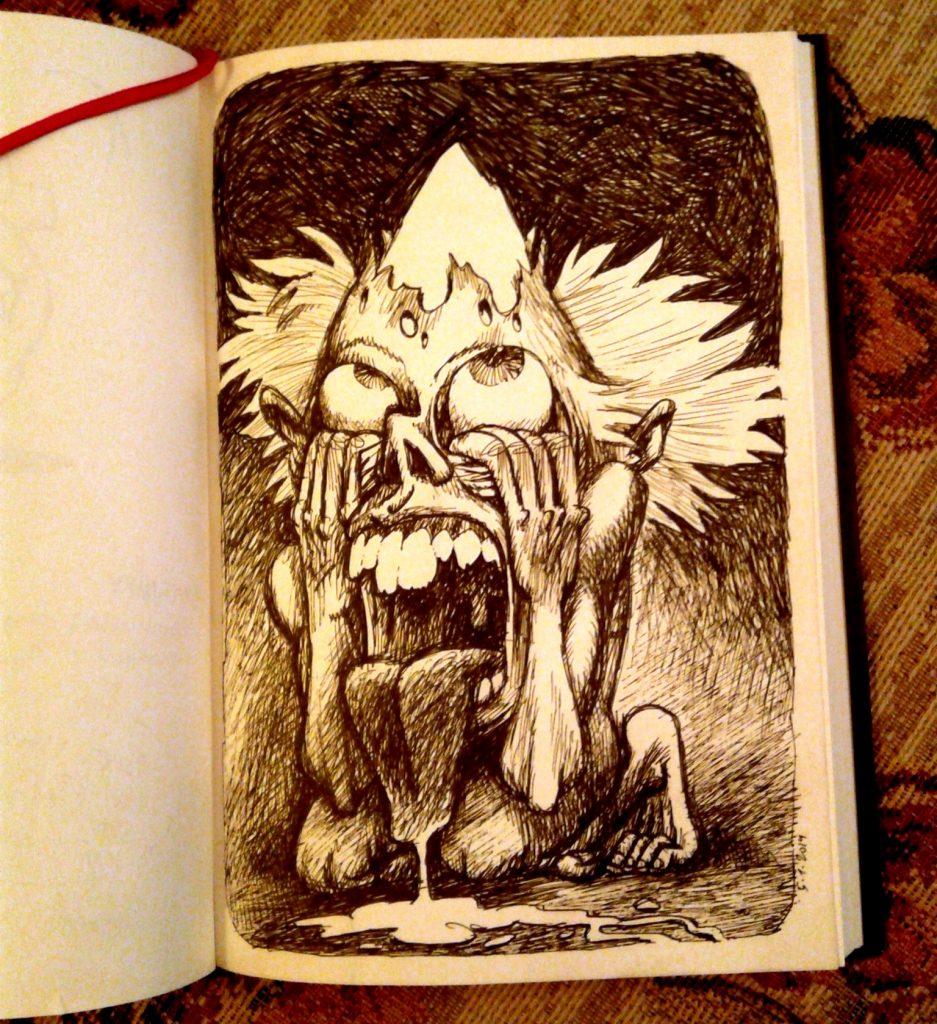 Sketch: Сахарная голова