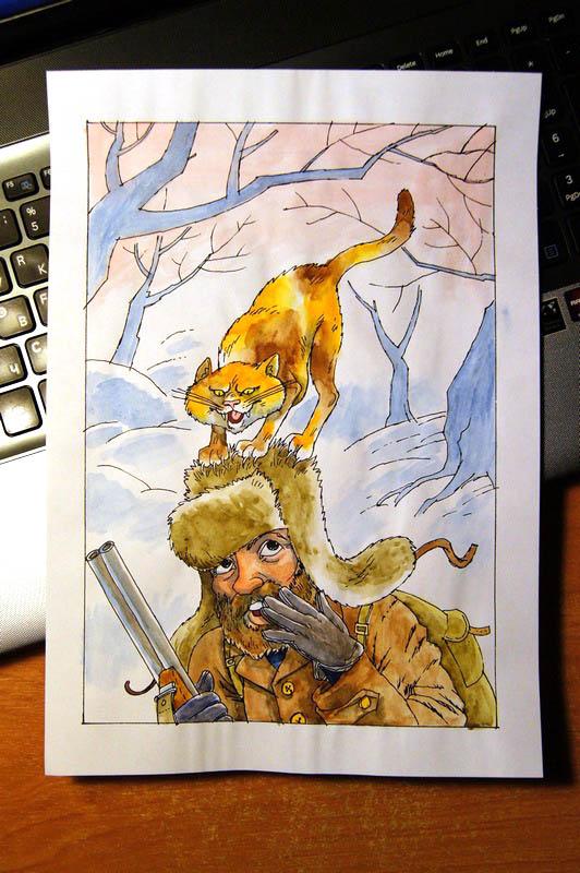 Иллюстрации к рассказам Чарушина