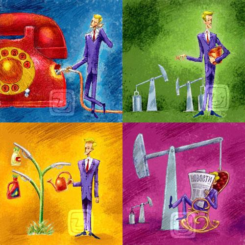 Иллюстрация для сайта «Энергия»