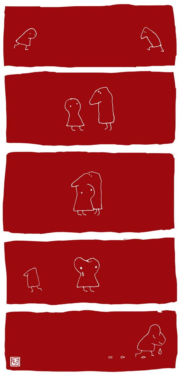 Носатые: Нещасная любовь (комикс)