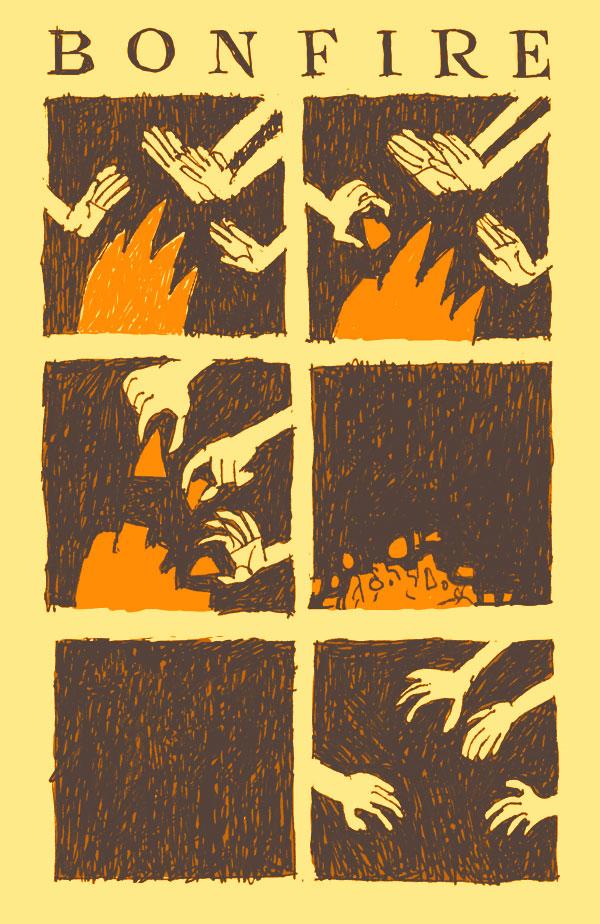 Bonfire / Костёр (комикс)