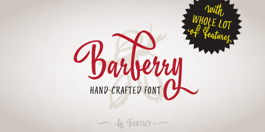 Font Barberry